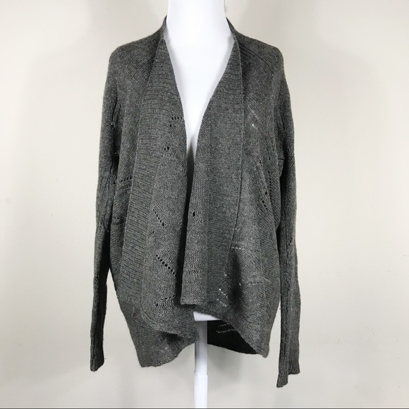 8bf9771d241 Vince yak wool open waterfall cardigan medium